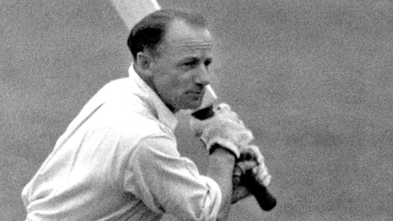 Don Bradman notched a half-century in his side's third-Test draw with Australia 2002