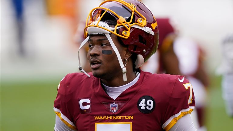 Former Washington quarterback Dwayne Haskins is expected to sign with the Pittsburgh Steelers