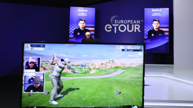 The European eTour season opened with a live event in Abu Dhabi last January