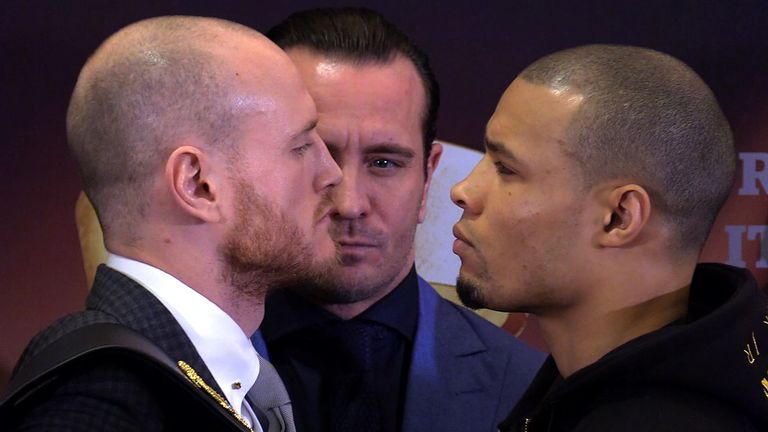 Kalle Sauerland promoted Eubank Jr's fight with George Groves