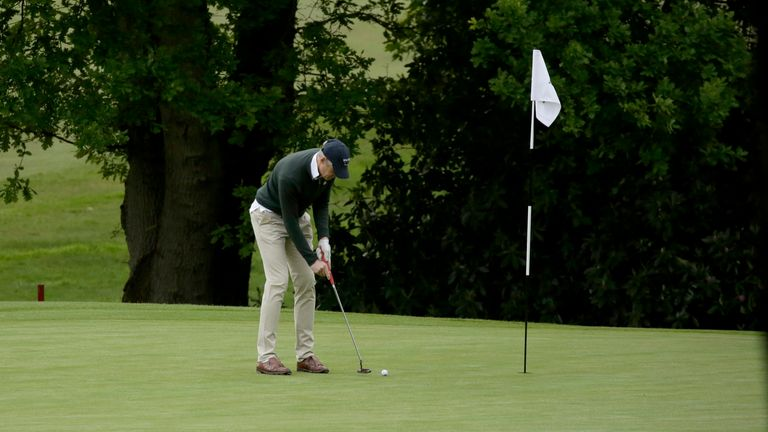 Golf courses will be closed in England during the latest lockdown