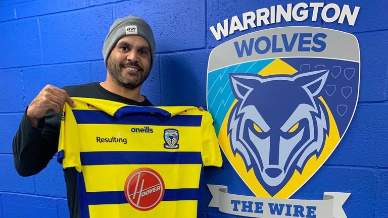 Inglis came out of retirement to play for Warrington in the 2021 Super League season (Credit: Warrington Wolves)