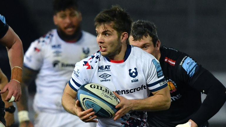 Harry Randall played a starring role in Bristol's win over Exeter