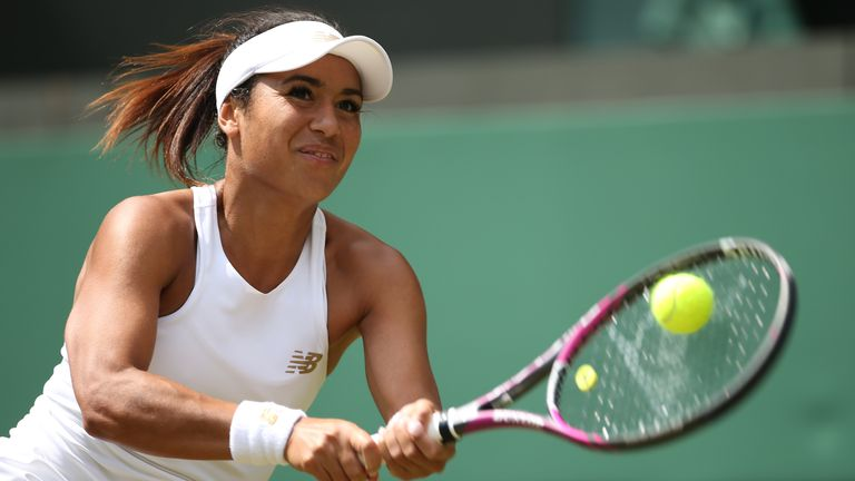 British No 2 Heather Watson tweeted to confirm she was one of those affected