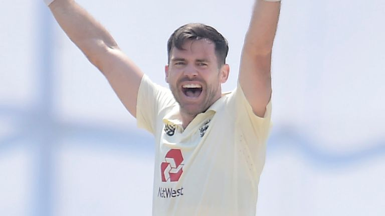 James Anderson boasted figures of 6-40 in the second Test, to become the oldest seamer to take a five-wicket haul in Asia