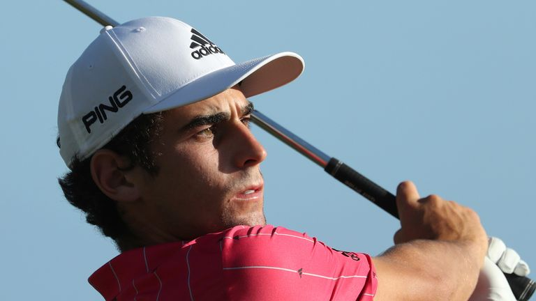 Joaquin Niemann lost out to Harris English in a playoff last week in Kapalua