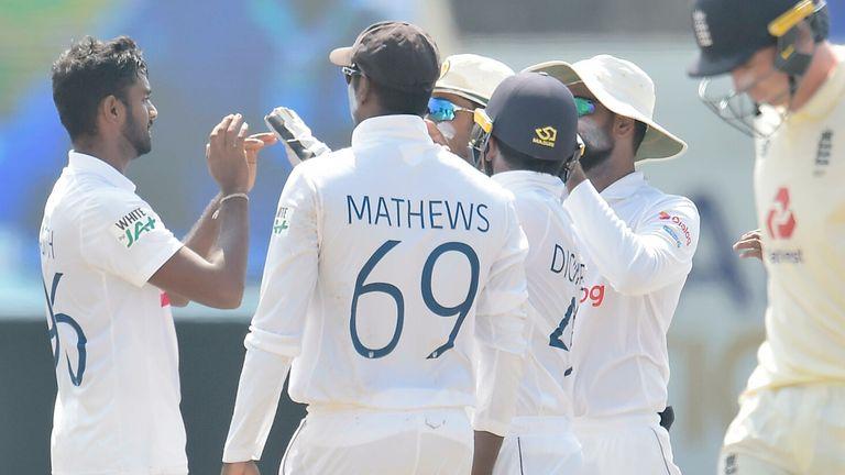 Lasith Embuldeniya was superb in taking seven wickets for Sri Lanka