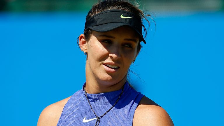 Laura Robson has undergone a third hip operation, which she confirmed on social media