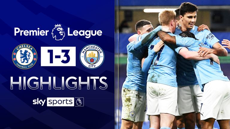 FREE TO WATCH: Highlights from Manchester City's win over Chelsea in the Premier League.