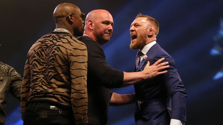 McGregor lost his boxing debut to Floyd Mayweather