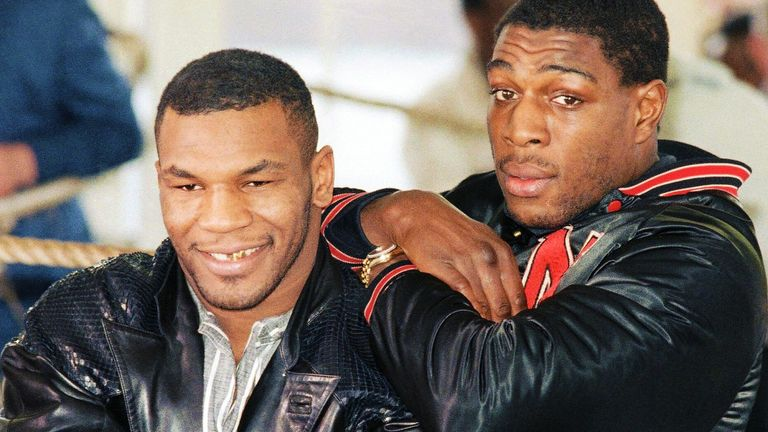 Mike Tyson and Frank Bruno's relationship has endured to this day