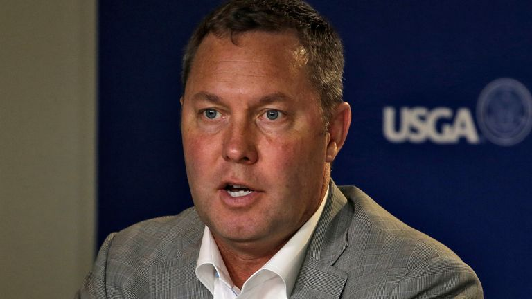 LPGA Commissioner Mike Whan will transition out of the organisation in 2021 - AP photo