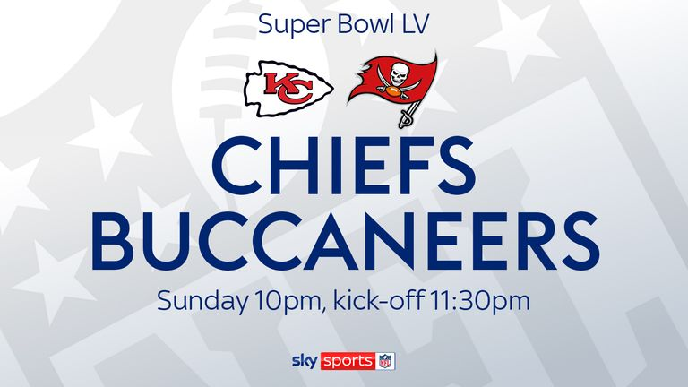 Super Bowl LV live on Sky Sports NFL