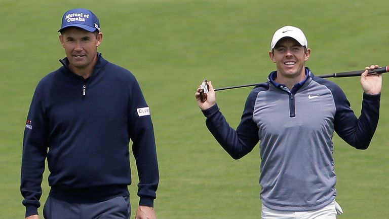 Padraig Harrington insisted Rory McIlroy will be at the Ryder Cup in September