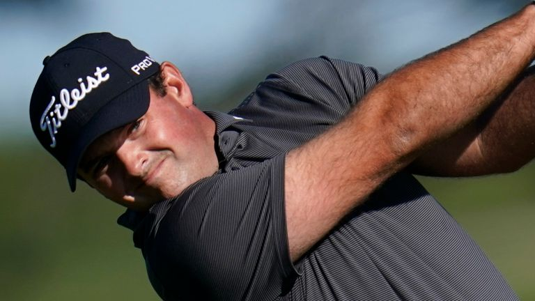 Patrick Reed will play alongside Carlos Ortiz and Sam Burns in Sunday's final round