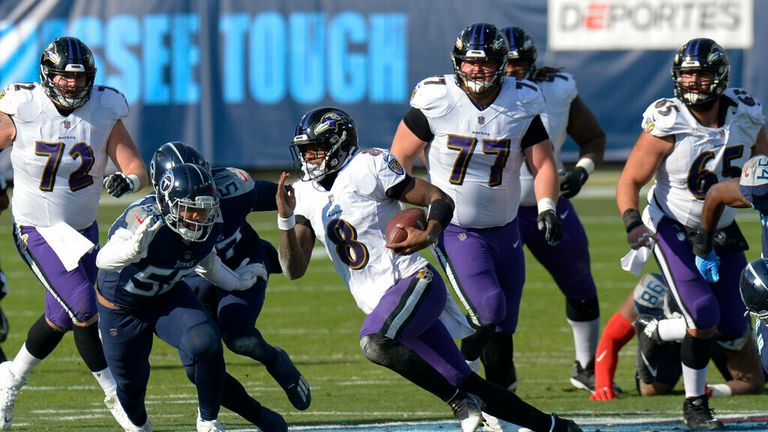 Watch how Jackson recorded the first playoff win of his career as the Ravens beat the Titans