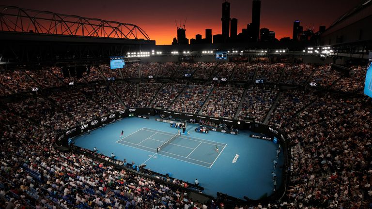 Up to 30,000 fans a day are expected to attend the Australian Open