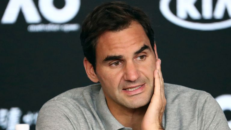 Federer had match points but went on to lose to Novak Djokovic in the 2019 Wimbledon final