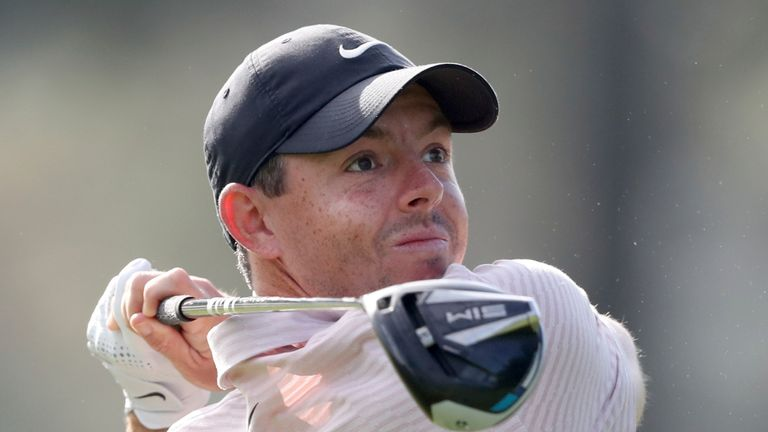 Rory McIlroy returns to action this week