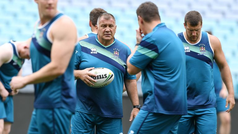 Rugby Union World Cup: England head coach Shaun Wane ready to put preparation into practice |  Rugby League News