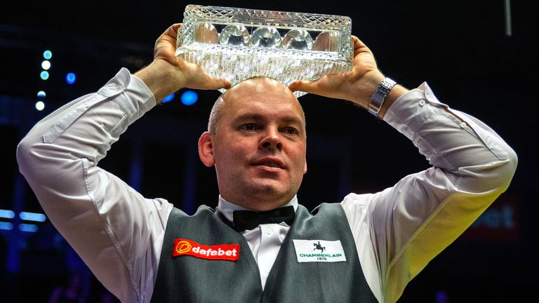 Stuart Bingham is the reigning Masters champion