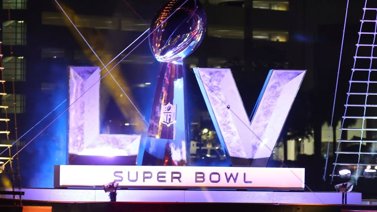 Super Bowl LV will be played in Tampa Bay, Florida