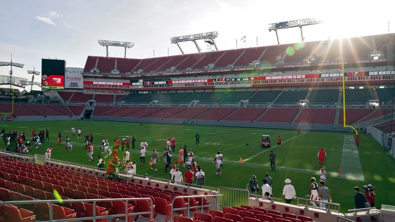 Raymond James Stadium will host Super Bowl LV at a reduced capacity