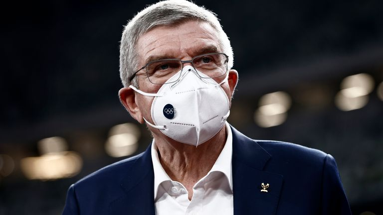 Sky Sports News' Geraint Hughes explains that IOC president Thomas Bach is confident that the Tokyo Olympic Games will go ahead as scheduled this year