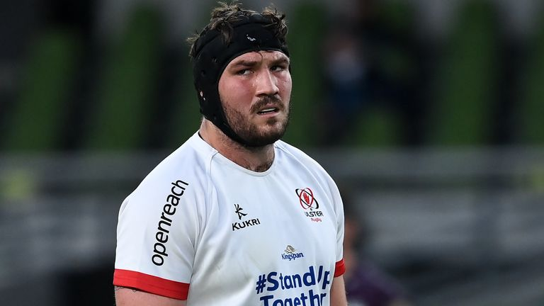 Uncapped Ulster prop Tom O'Toole is included among the props