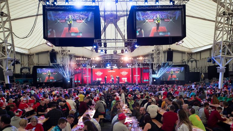 Butlin's Minehead Resort is the home of the UK Open, but not this year due to the coronavirus pandemic
