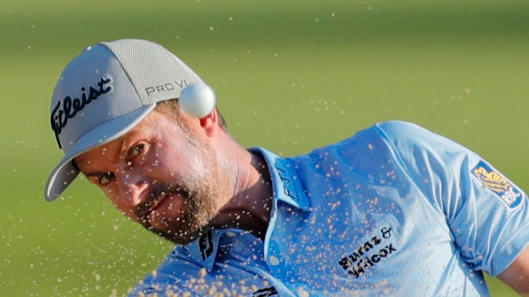 Webb Simpson is two off the halfway lead at the Sony Open