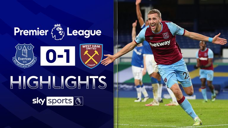 FREE TO WATCH: Highlights from West Ham's win over Everton in the Premier League