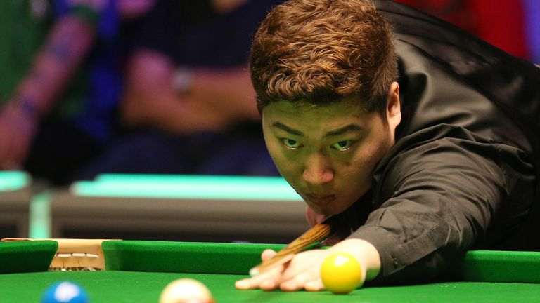 Yan Bingtao twice hit back from two frames behind to win the biggest title of his career