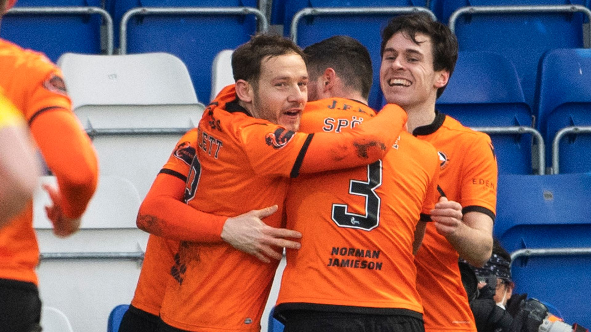 Dundee United end winless run at Ross County