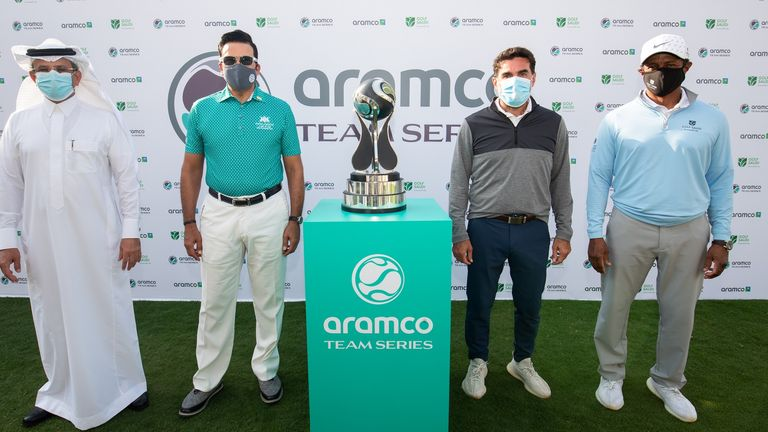 The Aramco Team Series was announced during the European Tour's Saudi International