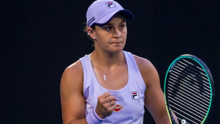 Barty has set her sights on playing in Miami next month after withdrawing from the Qatar Open in Doha