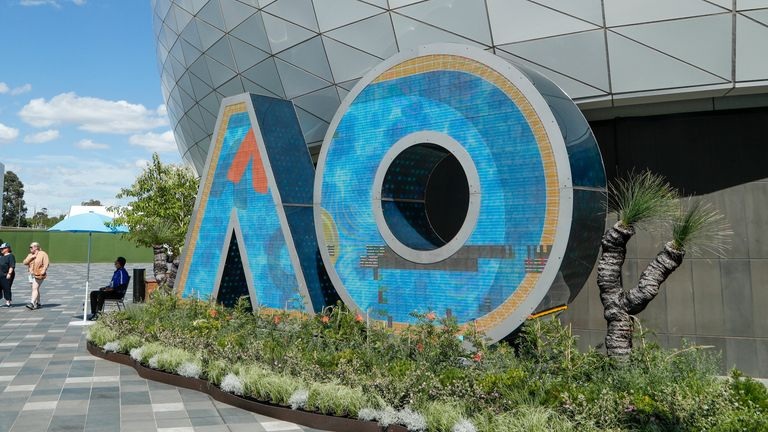 The Australian Open is set to begin on Monday, February 8