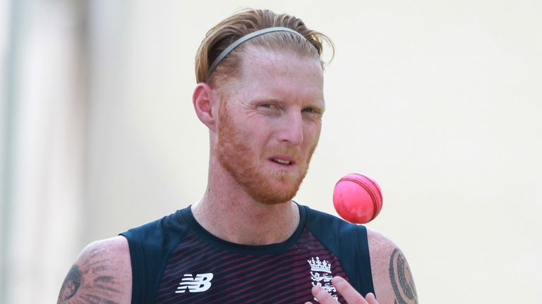 Ben Stokes was encouraged by how much England's pace bowlers got the pink ball moving in nets (Credit: BCCI)