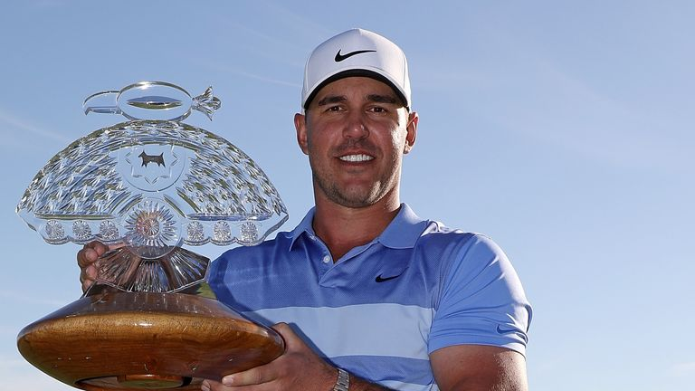 Koepka collected his eighth PGA Tour title at the Phoenix Open