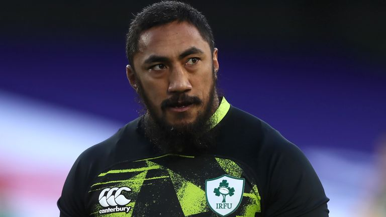 Bundee Aki has scored five tries in 30 appearances for Ireland