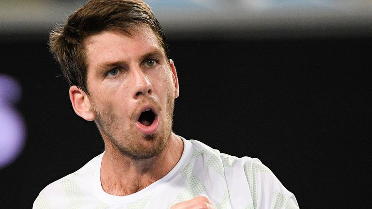Norrie will take on 20-time Grand Slam champion Rafael Nadal in the third round on Saturday