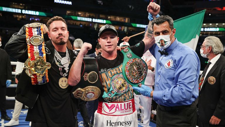 Canelo aims to become undisputed super-middleweight champion