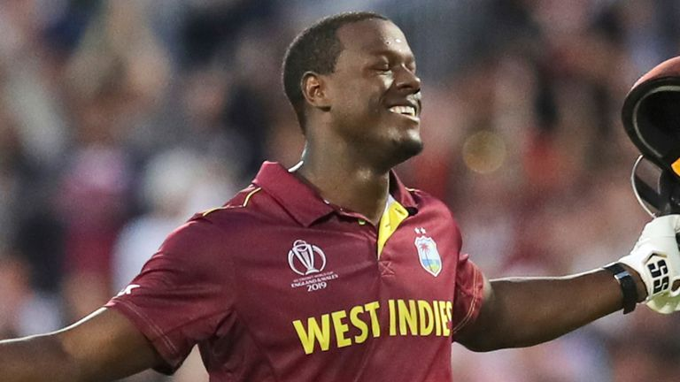 West Indies power hitter Carlos Brathwaite will be playing for Birmingham Bears in this year's Vitality Blast