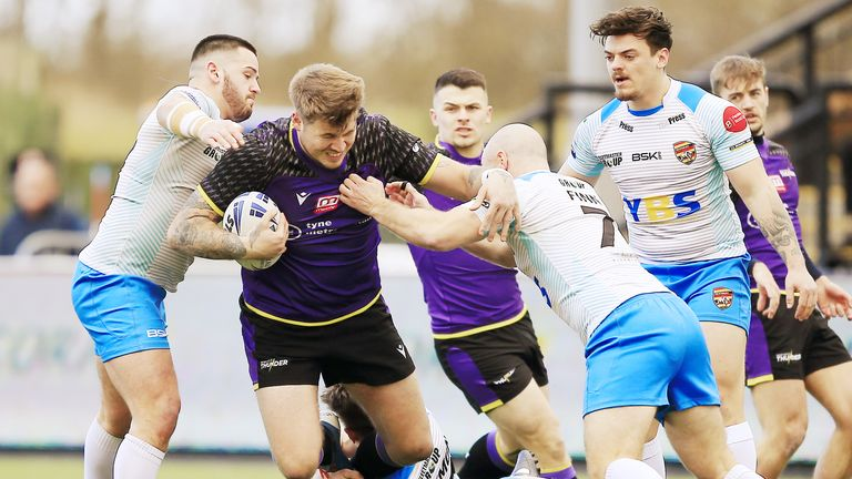 Dewsbury have not played since facing Newcastle in the Challenge Cup last March