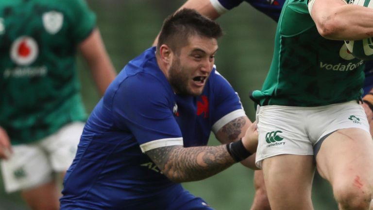 Cyril Baille is one of five France players who have tested positive for coronavirus, taking their number of positive tests to 10