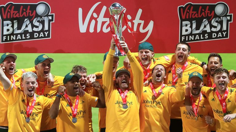 Nottinghamshire won the Vitality Blast but did not fare so well in red-ball cricket