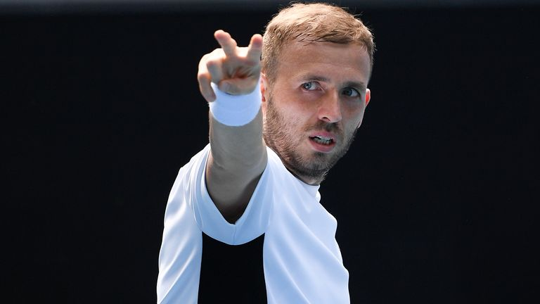 Madrid Open: Dan Evans defeats Jeremy Chardy to make winning start to campaign in Spanish capital |  Tennis News