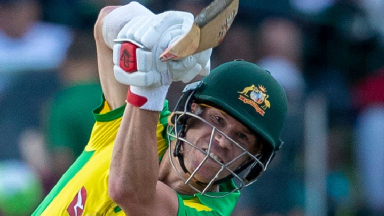 Australia's David Warner has eight domestic T20 centuries and one for his country