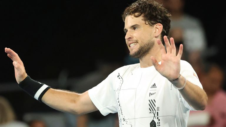 Thiem aims to return in time for the European clay-court season