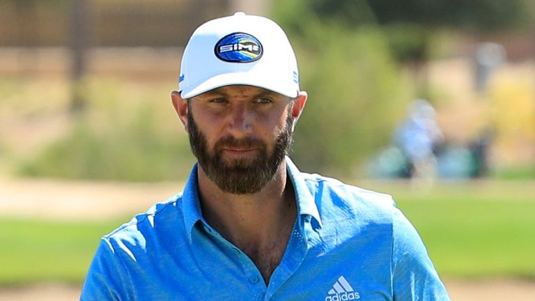 Dustin Johnson claimed a two-shot victory at the Saudi International